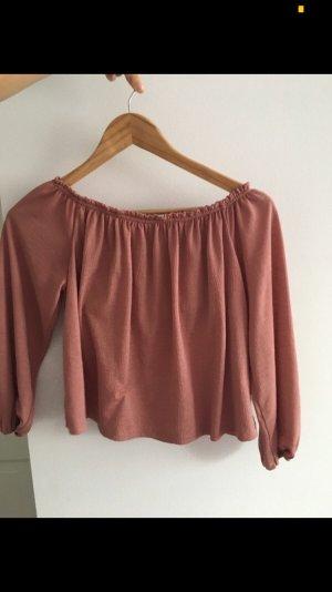 Bershka Carmen Shirt multicolored