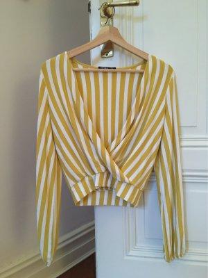 Bershka Wraparound Shirt multicolored
