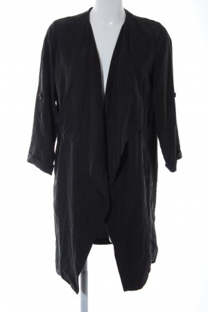 Bershka Oversized Jacke anthrazit Casual-Look