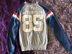 Bershka Crewneck Sweater multicolored