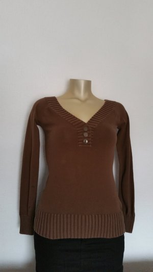 Bershka Pullover Gr. 34-36 braun