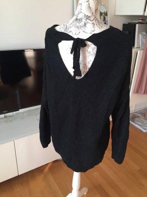 Bershka Pullover schwarz Gr L