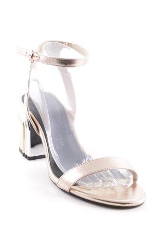 Bershka Riemchen-Sandalen mehrfarbig Elegant