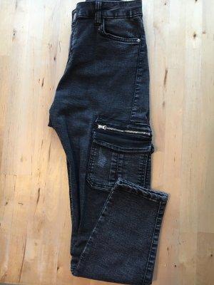 Bershka Rockige Cargo Jeans