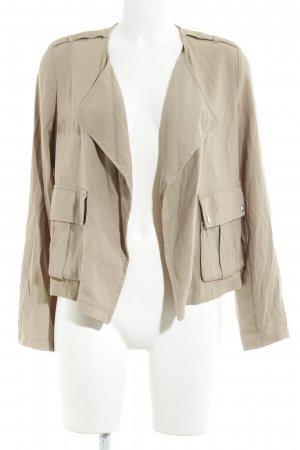 Bershka Safari Jacket beige safari look