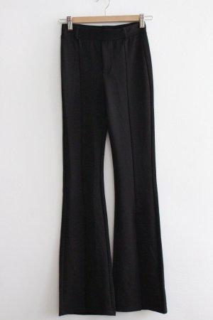 Bershka Flares black polyester