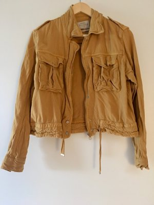 Bershka Safari Jacket dark yellow