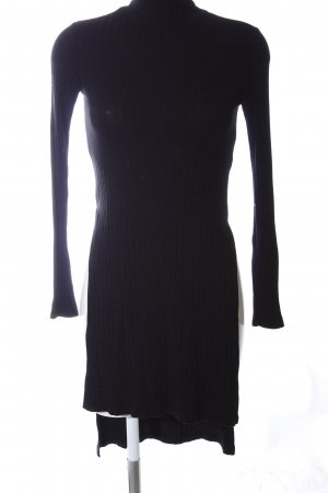 Bershka Shirtkleid schwarz Casual-Look