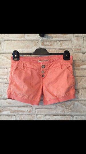 Bershka Shorts Lachsfarben 32