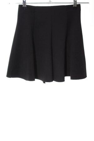 Bershka Skater Skirt black casual look