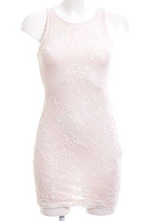 tienda de liquidación liquidación de venta caliente bien conocido Bershka Vestido de encaje rosa elegante