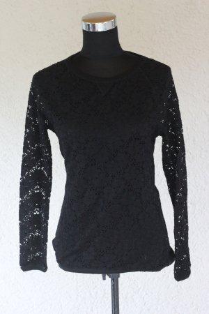 Bershka Spitzenshirt, Shirt, Lace, Laceshirt, blogger