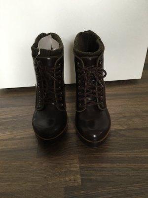 Bershka Stiefelette Ankle Boot High-Heels 39 *NEU*