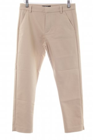 Bershka Stoffhose creme Business-Look