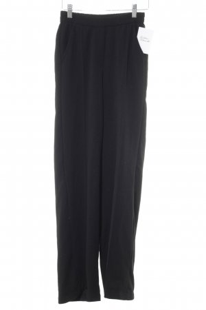 Bershka Jersey Pants black casual look