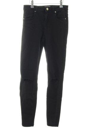 Bershka Jeans elasticizzati nero stile casual