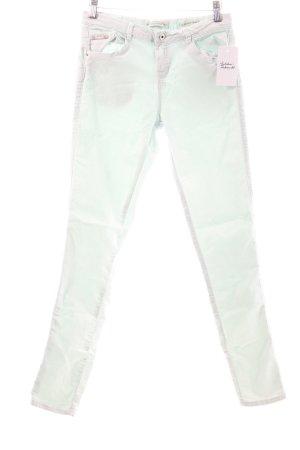 Bershka Stretchhose mint Casual-Look
