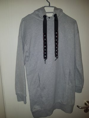 Bershka Sweat Dress grey