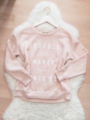 Bershka Sweatshirt Blogger Pullover Oversize Sweater Gr.XS/S