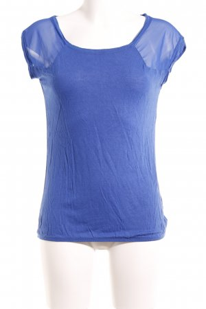 Bershka T-Shirt blau Business-Look