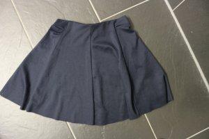 Bershka Circle Skirt dark blue
