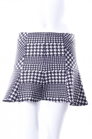 Bershka full skirt Houndstooth