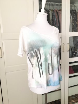 Bershka Oversized Shirt multicolored