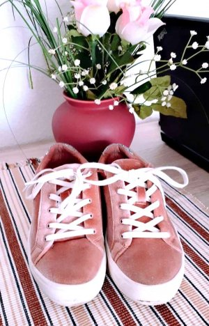 Bershka Lace-Up Sneaker multicolored