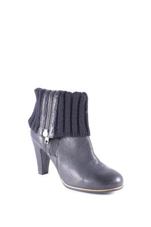 Bertie Korte laarzen zwart casual uitstraling