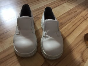 Engelbert Strauss Scarpa slip-on bianco