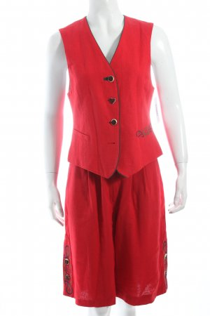 Berwin & Wolf Traditional Dress red country style
