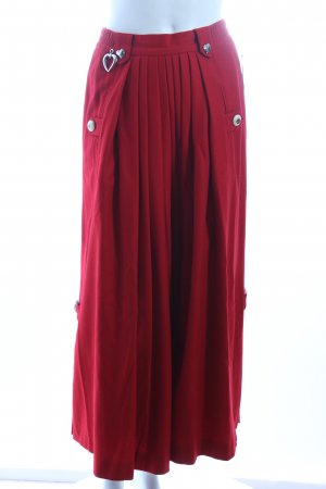 Berwin & Wolf Traditional Skirt red country style