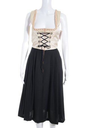 Berwin & Wolff Vestido Dirndl estampado a cuadros estilo country