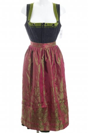 Berwin & Wolff Dirndl multicolored extravagant style