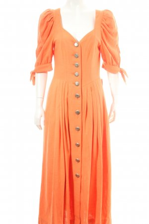 Berwin & Wolff Dirndl orange Country-Look