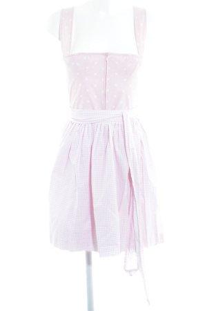 Berwin & Wolff Dirndl rosa-bianco motivo floreale stile romantico