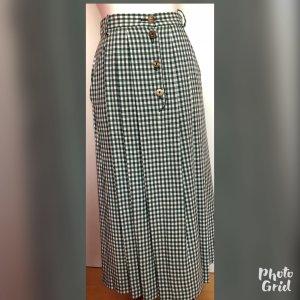 Berwin & Wolff Traditional Skirt cream-green mixture fibre