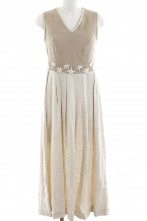 Berwin & Wolff Maxi Dress cream-brown color gradient casual look