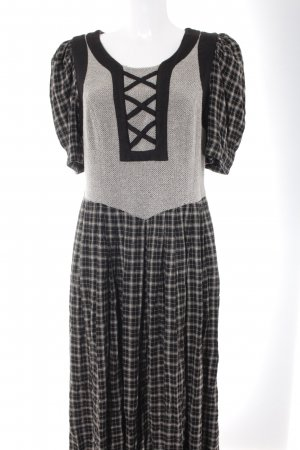 Berwin & Wolff Maxi Dress check pattern casual look