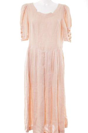 Berwin & Wolff Abito midi rosa pallido stile country