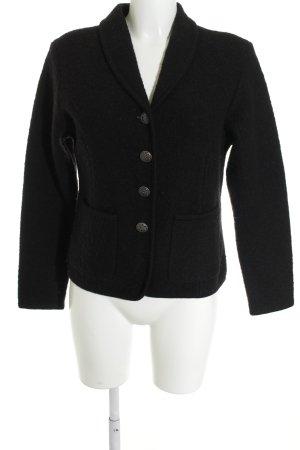 Berwin & Wolff Blazer in lana nero stile professionale