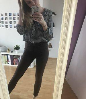 Beschichtete Jeans cheap Monday Ochsenblut
