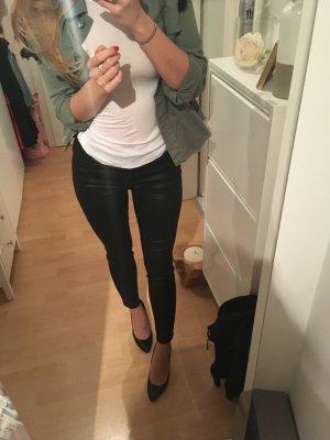 Beschichtete Jeans High Waist The Kooples 27