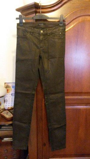 Beschichtete Jeans Hose von Marc Cain