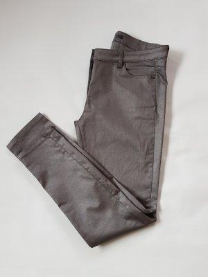 Esprit Pantalone cinque tasche argento-grigio