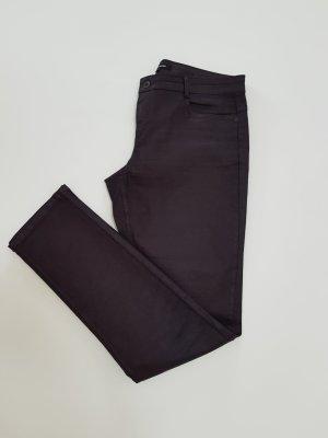 More & More Jeans slim brun rouge-bordeau