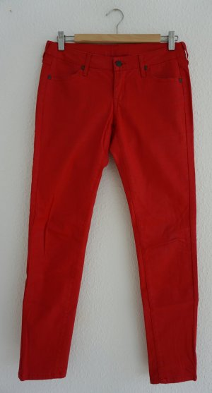 Beschichtete rote Hose Marant Mango XS 34 36