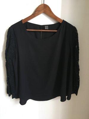 s.Oliver Blouse oversized noir