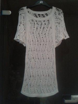 Robe Hippie blanc coton