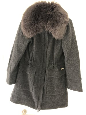 Woolrich Wool Coat dark grey